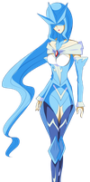 Articuno Gijinka by The-Last-Silver-Moon