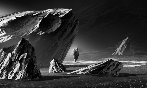 Space alone by RomainFlamand