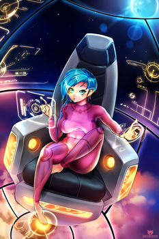 Space pilot by hotbento