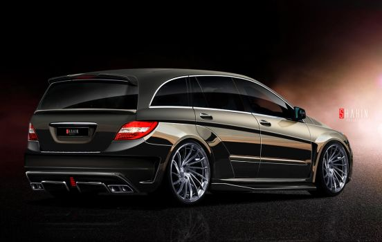 Mercedes-Benz R-Class project WOLF by tuninger