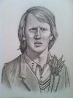 Fifth Doctor: Peter Davison Sketch by lam8507