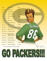 2009 Packer Schedule by SlimmmGoodie