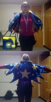 Geno Cosplay WIP: The Cape by embercoral