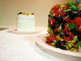 Decorated Rainbow Cake 2 by kristollini