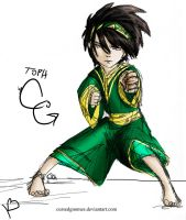 .:Toph:. for BloodAutumnLeaves by cursedgnomes