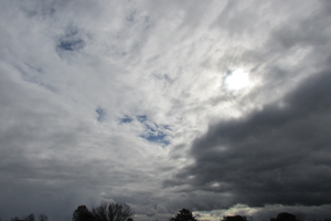 Fall Clouds IMG 3329 by TheStockWarehouse
