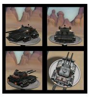 Apocalypse Tank made in Spore by JarmenKell