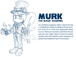 Murk - Magic Squirrel by McKimson