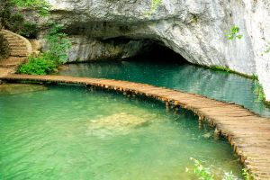 Paths and caves 1 - Plitvicka by wildplaces