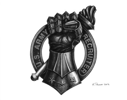 FIST Recruiter Badge by aaronprovost