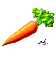 Carrot Painting by Maxor-GWD