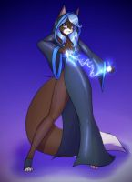 121029 - Commission: Azure Nightshade by ScorpDK