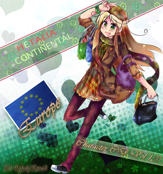 APH OC Europe Character CD V.2 by GeekyKitten64