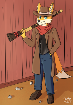Wild West Fox by Yukireon