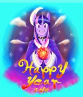 Year Of The Purple Smart by DamianVertigo