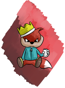 Conker's Bad Fur Day by crocty