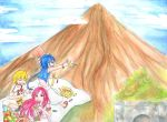CE: Magi Trio explores Mount Mayon and Cagsawa! by hananomnom