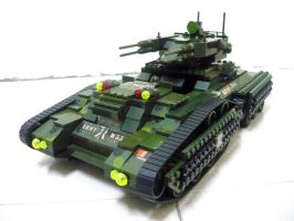 Lego Transform Tank 'Fake' 8.1 by SOS101