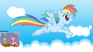 Dashie in Heaven by SdKfz186Jagdtiger