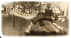 Forest Walkers by TigrisTheLynx