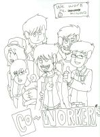 Co-Workers by PlaystationNerd