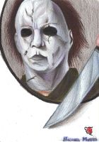 Michael Myers by rikinhukuma
