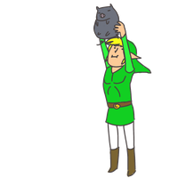 AND HIS NAME SHALL BE LINK by LikeNo