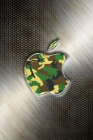 iphone Wallpaper - Camo by LaggyDogg