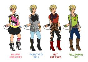 Wear All the Trends! by Shira-chan
