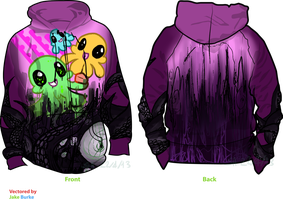 Oh Hey A Squiddles/HorrorTerror Hoodie by ThisAccountIsDead462