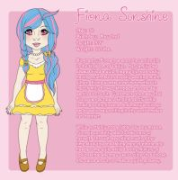Character Sheet:  Fiona Sunshine by jesasaurus