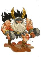 Dragon's crown Dwarf by Crew1