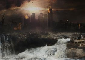 Fin du monde (End of World) by Noxart-graphics