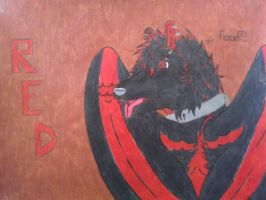 red fang (not mine) by Animedevildeman