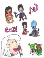 DreamWorks Couples 2014 by SonicClone