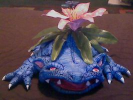 Venusaur sculpture by Lemguin