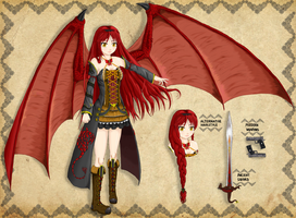 Contest .:Crimson:. for Reiyaa by Cosdark