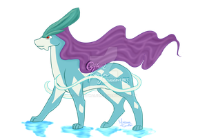 Suicune by GhostKaiju