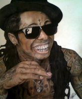 Lil Wayne Gansta Smile by ghosthorror