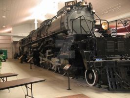 Union Pacific Big Boy by DraftHorseTrainer