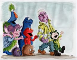 Grandpa and the Marching Monsters by AnimatedJim