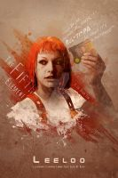 Leeloo Dallas, Multipass! by mobieus69
