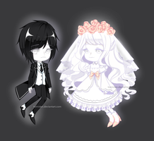 [ADOPT 128-129][SET PRICE][OPEN 1/2] GHOST COUPLE by tomiden