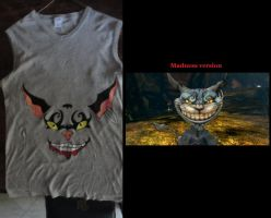 Cheshire Madness t-shirt by Kalix5