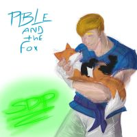 able and the fox by brokencreation