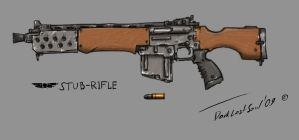 Auto-rifle by DarkLostSoul86