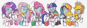 Voltronponies (2) by PonyGoddess