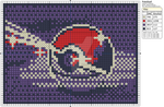 Pokemon - Pokeball by Makibird-Stitching