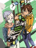 Eureka 7 - It's a skateboard by MatsuRD