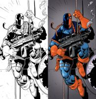 DeathStroke - Colors by Juggertha